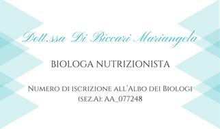 Dott.ssa Di Biccari Mariangela
